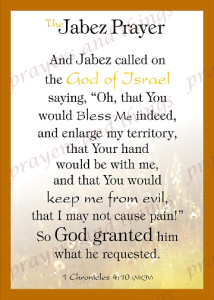 picture about Prayer of Jabez Printable identify The Jabez Prayer Prayers and Factors