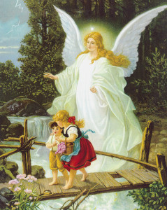 Angel with Children